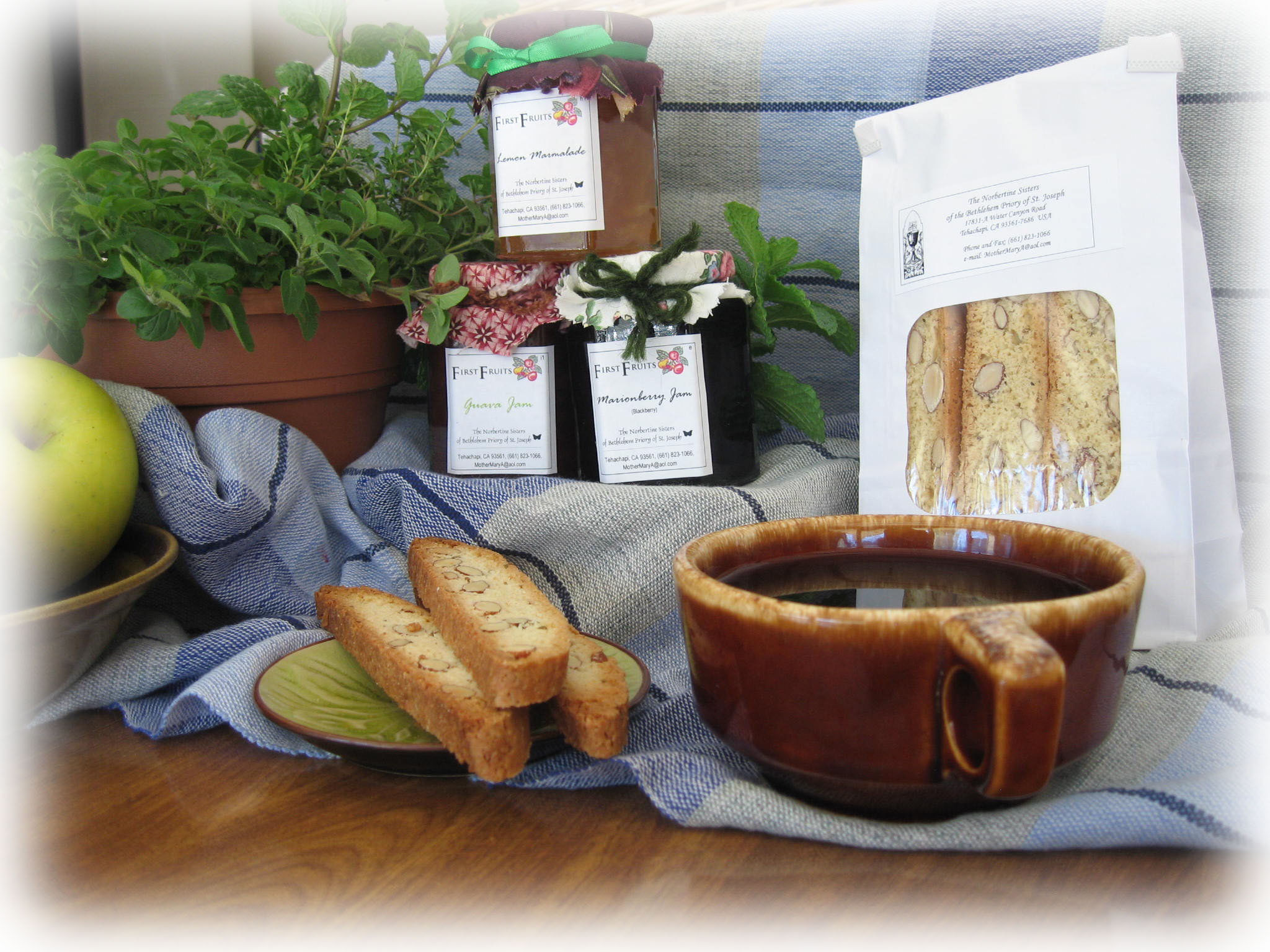 Home-Made Treats from our Monastery Kitchen