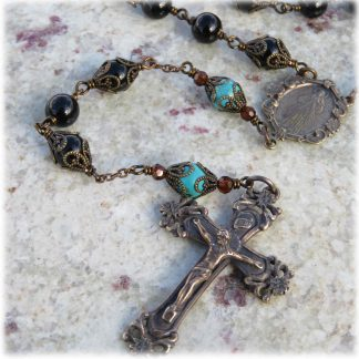 Bronze and Sterling Silver Rosaries
