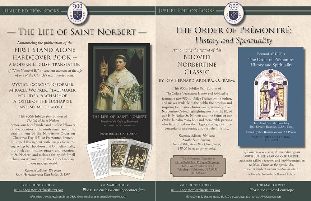 Book Flyer St Norbert and Norbertine Spir & History